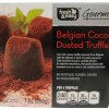 Fresh & Easy Belgian Dusted Truffles Review