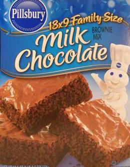 Pillsbury Milk Chocolate Brownie Box
