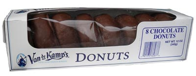 Van de Kamp Chocolate Donut Package