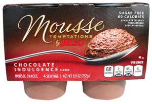 Jello Chocolate Mousse Package