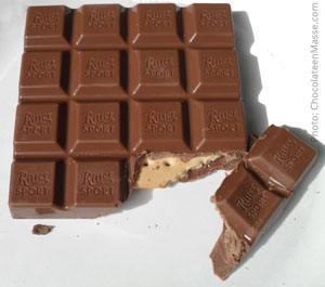 Ritter Chocolate Biscuit: Milk Chocolate With Butter