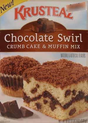Krusteauz Chocolate Swirl Crumb Cake & Muffin Mix Review