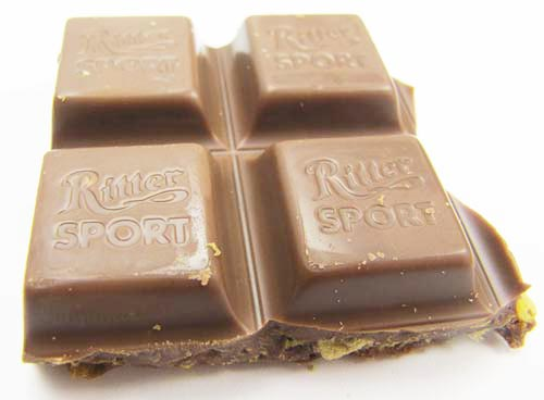 Image of Ritter Sport Chocolate with Cornflakes