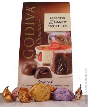 Godiva Dessert Truffle Package