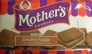 Mother's Double Fudge Cookies Package