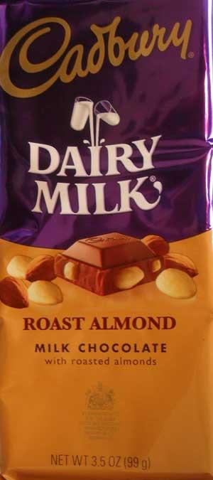 Cadbury Roast Almond Bar Package