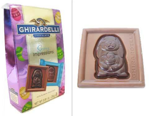 Image of Ghirardelli bunny square