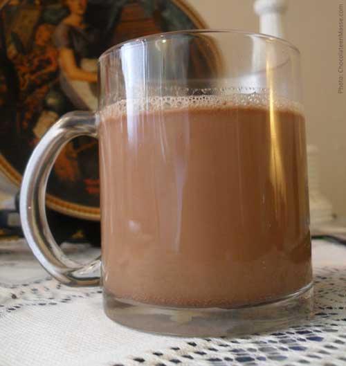 Non-Dairy Hazelnut Hot Cocoa