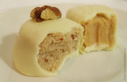 See's Apple Pie Truffles and Pecan Pie Truffles