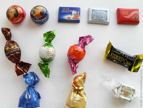 "Lindt Store Chocolate ""Haul"": Individual Pieces 