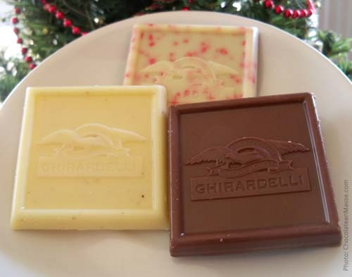 Ghirardelli Limited Edition Holiday Square Chocoalte | Chocolateenmasse.com