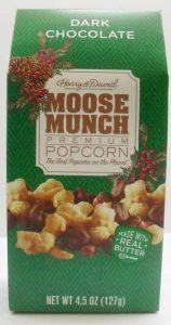 Harry & David's Dark Chocolate Moose Munch Package